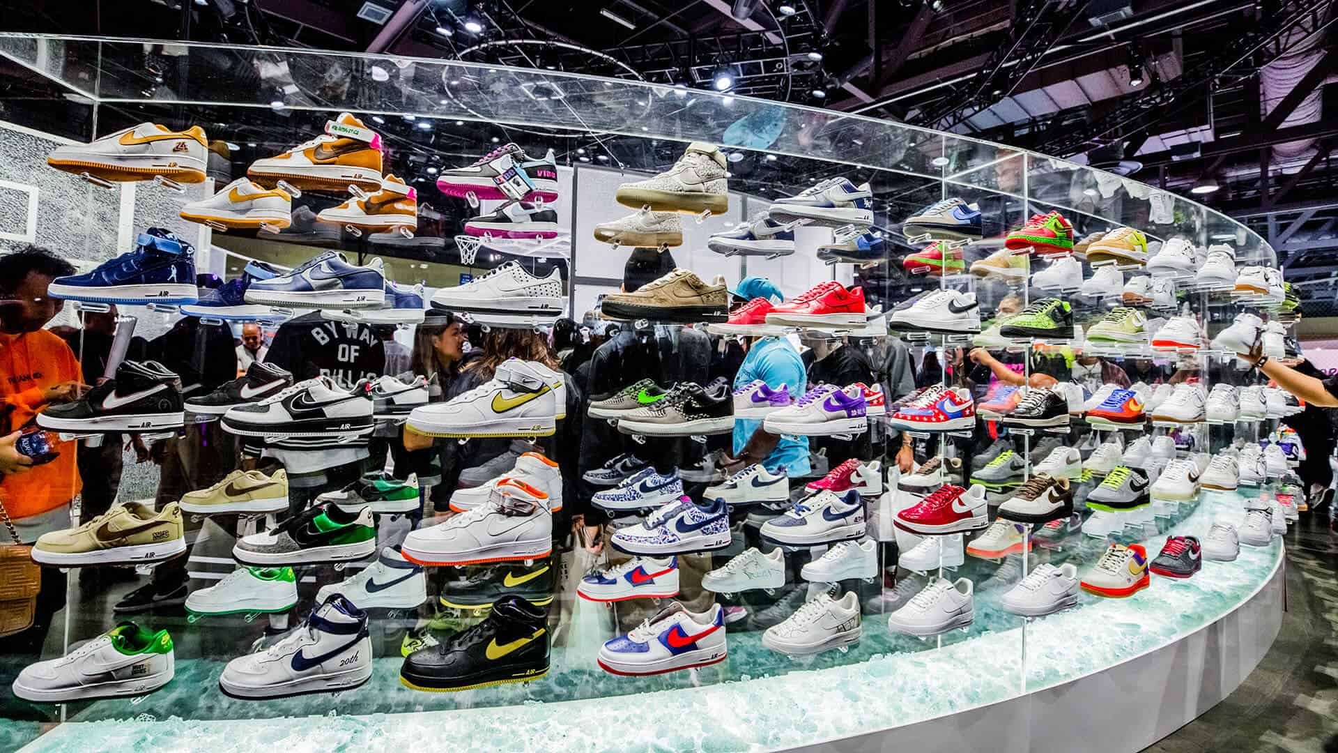 ComplexCon Photo of Nike Acrylic Display by DIG53