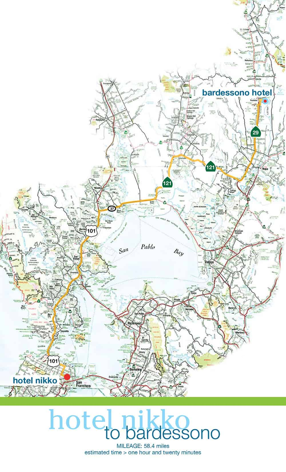 Prius Driver's Route Book Map designed by DIG53