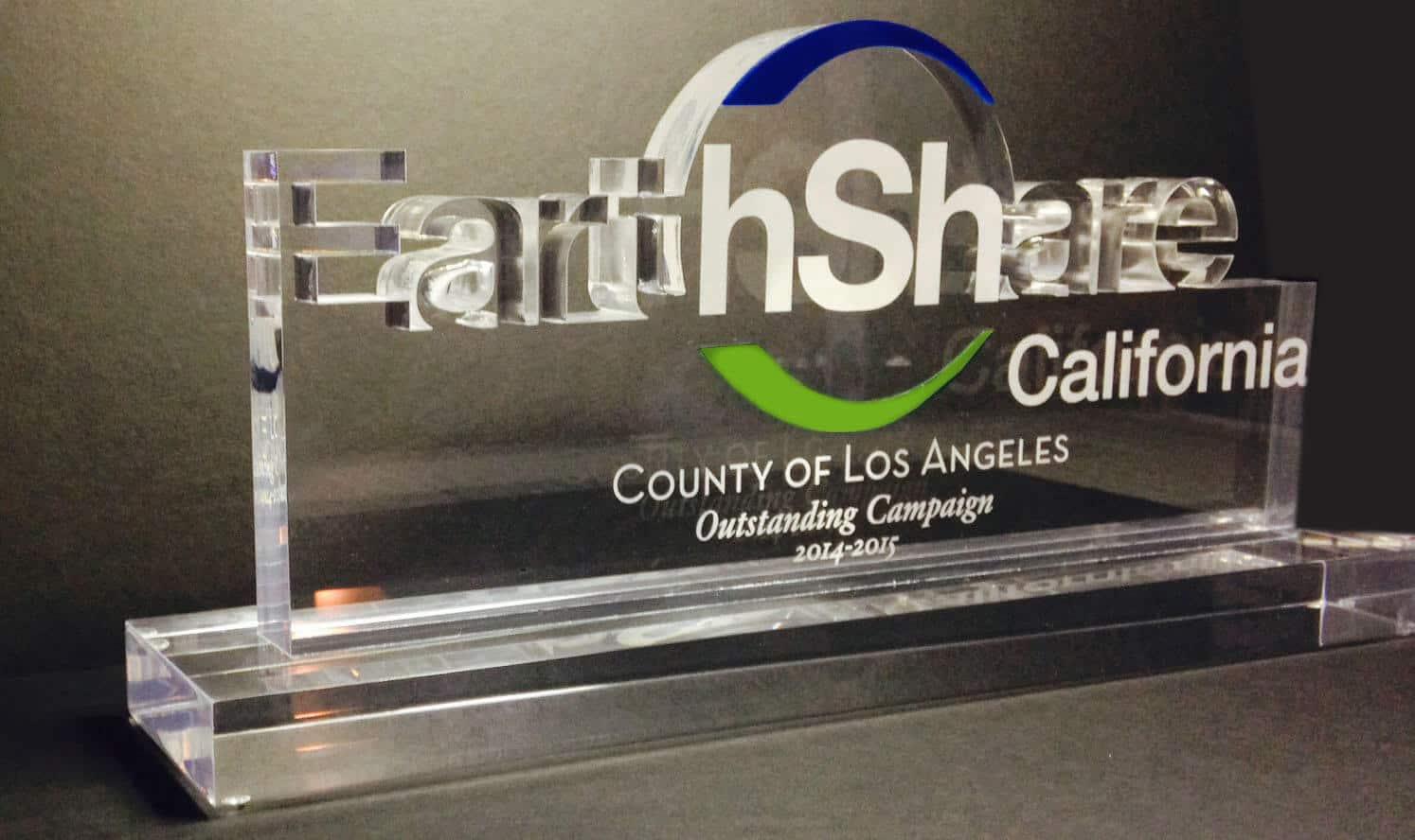 Photo of Earthshare Acrylic Award by DIG53