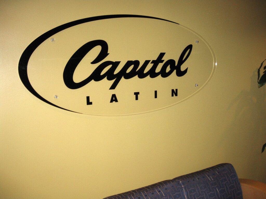 Photo of Capitol Records Latin Custom Acrylic Sign by DIG53